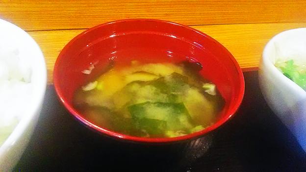 だいこん ( 成増 ) 焼き魚定食( 味噌汁 ) 2019/01/15
