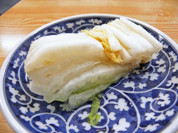 やまだや ( 成増 = やまだ食堂 ) 白菜漬けa  2019/03/03