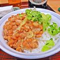 やまだや ( 成増 = やまだ食堂 ) 納豆ご飯  2019/03/12