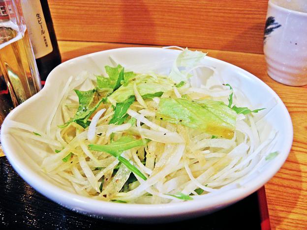 だいこん ( 練馬区旭町 or 成増 ) 焼魚定食( だいこんサラダ ) 2019/03/16