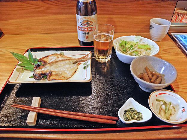 だいこん ( 練馬区旭町 or 成増 ) 焼魚定食( エボダイ )     2019/03/16