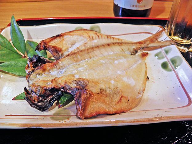 だいこん ( 練馬区旭町 or 成増 ) エボダイ( 焼魚定食 )     2019/03/16