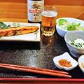 だいこん ( 練馬区旭町 or 成増 ) 焼魚定食 ( 鮭 )       2019/03/30