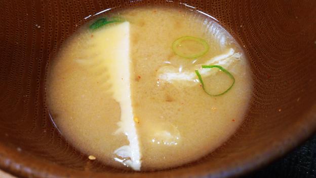 なか卯 ( 成増店 ) 味噌汁   2019/04/13