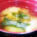 だいこん ( 練馬区旭町 or 成増 ) 味噌汁 ( 焼魚定食 )     2019/05/11