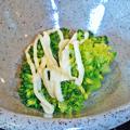 Photos: だいこん ( 練馬区旭町 or 成増 ) ブロッコリーのお浸し ( 焼魚定食 ) 2019/05/11