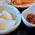 Photos: だいこん ( 練馬区旭町 or 成増 ) 小鉢二種 ( 焼魚定食 )   2019/05/18