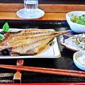 Photos: だいこん ( 練馬区旭町 or 成増 ) 焼魚定食 ( アジの開き )  2019/05/18