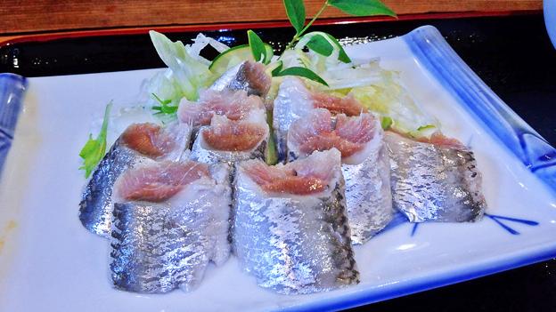 だいこん ( 練馬区旭町 or 成増 ) いわしの酢じめ ( 定食 )  2019/07/06