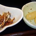 Photos: だいこん ( 練馬区旭町 or 成増 ) 小鉢二種 ( 焼魚定食 )   2019/07/20
