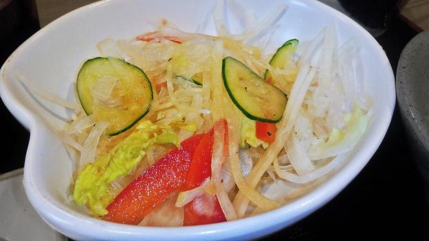 だいこん ( 練馬区旭町 or 成増 ) だいこんサラダ ( 焼魚定食 ) 2019/07/20