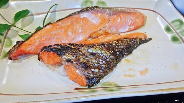 だいこん ( 練馬区旭町 or 成増 ) 鮭 ( 焼魚定食 )       2019/07/20