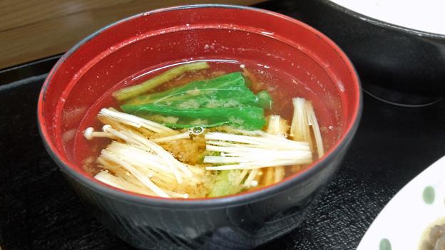 花水木 ( 成増 ) 味噌汁 ( 牛カルビ焼き定食 ) 2019/08/16