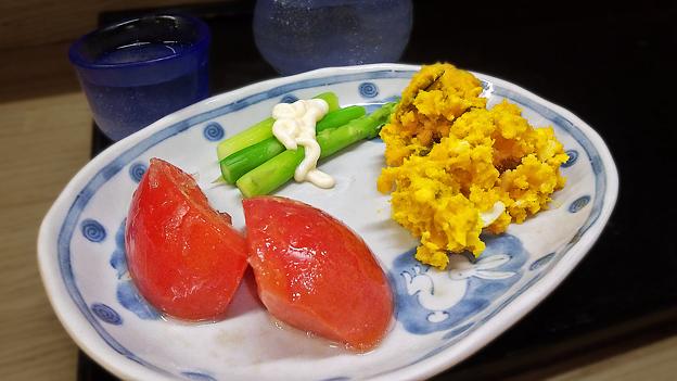 花水木 ( 成増 ) 総菜三種  2019/08/21