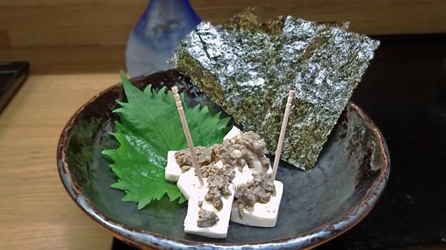花水木 ( 成増 ) カニ味噌チーズ  2019/08/21