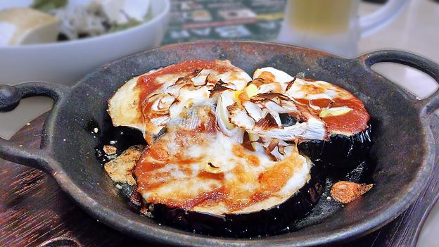 ジョナサン ( 成増駅前店 ) 米なすのねぎ味噌焼き       2019/09/14