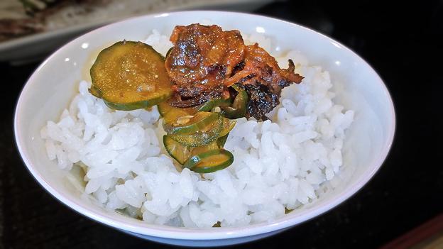 だいこん ( 練馬区旭町 or 成増 ) ご飯 ( 焼魚定食 )     2019/09/21
