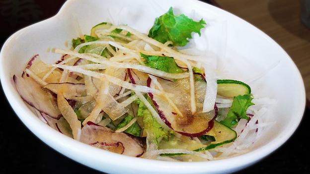 だいこん ( 練馬区旭町 or 成増 ) だいこんサラダ ( 焼魚定食 ) 2019/09/21