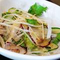 Photos: だいこん ( 練馬区旭町 or 成増 ) だいこんサラダ ( 焼魚定食 ) 2019/09/21