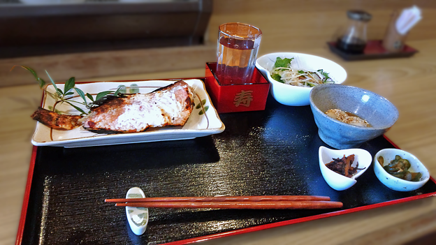 だいこん ( 練馬区旭町 or 成増 ) 焼魚定食 ( アカウオ )   2019/09/21