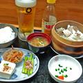 Photos: 花水木 ( 成増 ) 真鯛と野菜のせいろ蒸し定食  2019/10/11