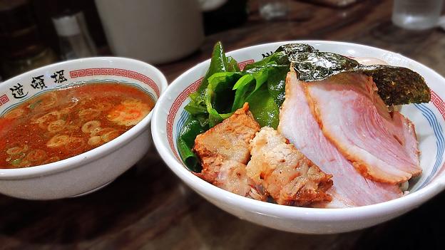 Photos: 道頓堀 ( 成増 = ラーメン ) 特製つけ麺  2019/09/29