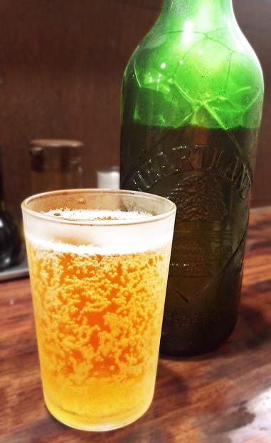 Photos: 道頓堀 ( 成増 = ラーメン ) ビール ( ハートランド )     2019/09/29