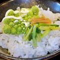Photos: だいこん ( 成増 or 練馬区旭町 ) ご飯  2019/10/19