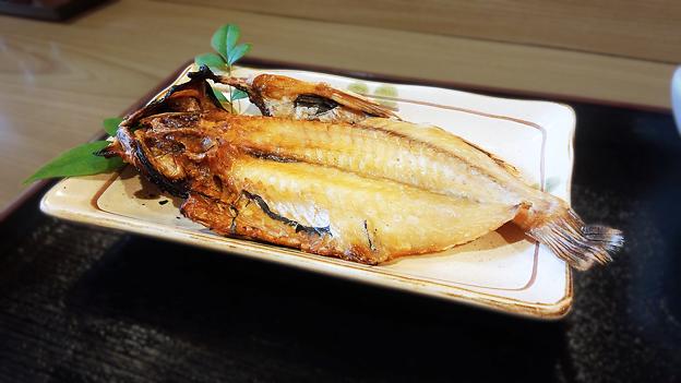 だいこん ( 成増 or 練馬区旭町 ) アカウオ ( 焼き魚定食 )  2019/10/19