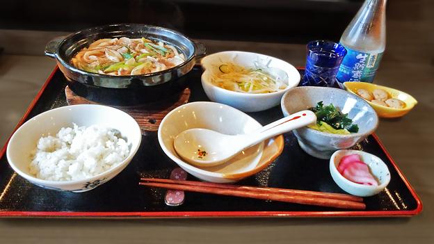 だいこん ( 成増 or 練馬区旭町 ) 肉うどん定食 2019/11/02