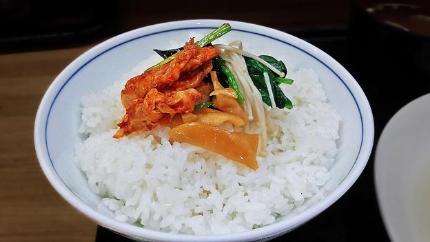 花水木 ( 成増 ) ご飯 ( 定食 )  2019/11/07