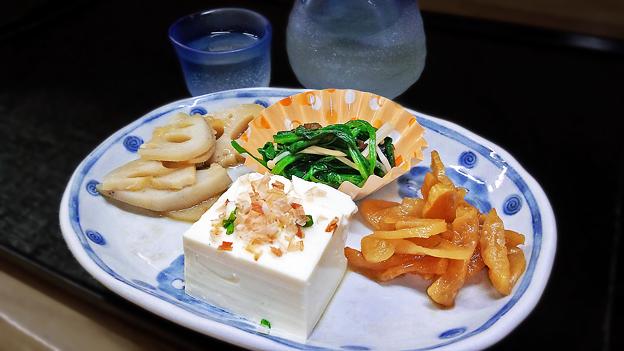 Photos: 花水木 ( 成増 ) 付け合わせ ( 定食 )  2019/11/07