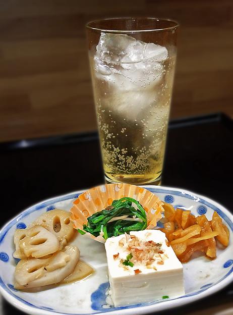 花水木 ( 成増 ) 梅酒ソーダ  2019/11/07
