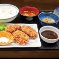 Photos: 花水木 ( 成増 ) 牡蠣フライ定食  2019/11/07