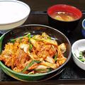 Photos: 花水木 ( 成増 ) 豚キムチ定食  2019/11/07