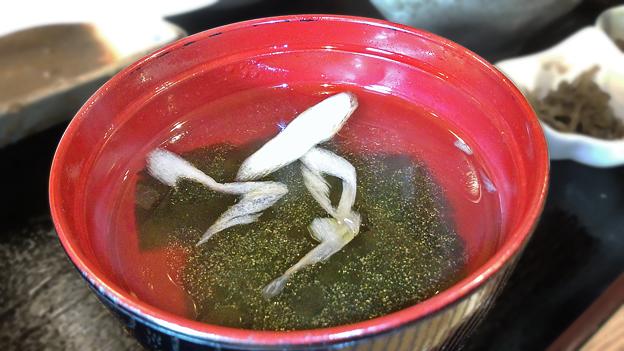 Photos: だいこん ( 成増 or 練馬区旭町 ) わかめスープ ( 定食 )   2019/11/16