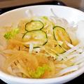 だいこん ( 成増 or 練馬区旭町 ) だいこんサラダ ( 定食 )  2019/11/16