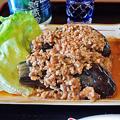 Photos: だいこん ( 成増 or 練馬区旭町 ) なすの揚げ出しマーボーあんかけ ( 定食 )  2019/11/16