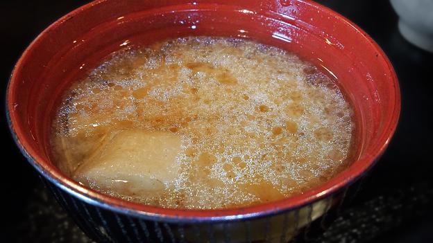 だいこん ( 成増 or 練馬区旭町 ) 味噌汁 ( 定食 )       2019/12/14