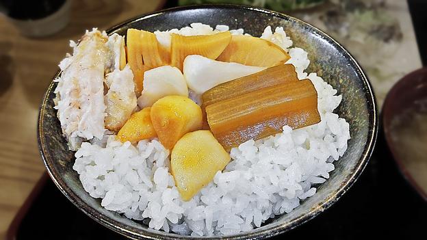 だいこん ( 成増 or 練馬区旭町 ) ご飯 ( 定食 )       2019/12/21