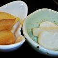 Photos: だいこん ( 成増 or 練馬区旭町 ) 小鉢二種 ( 定食 )     2019/12/21