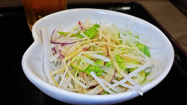 だいこん ( 成増 or 練馬区旭町 ) だいこんサラダ ( 定食 )  2019/12/21