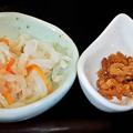 Photos: だいこん ( 成増 or 練馬区旭町 ) 小鉢二種 ( 定食 )     2020/01/11