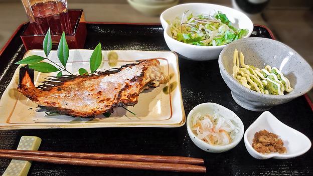 だいこん ( 成増 or 練馬区旭町 ) 焼魚定食 ( アカウオ )   2020/01/11