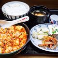 Photos: 花水木 ( 成増 ) 激辛麻婆豆腐定食  2019/11/21