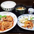 花水木 ( 成増 ) ポークジンジャー定食  2019/11/21