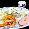 Photos: 花水木 ( 成増 ) 付け合わせ ( 定食 )  2019/11/21