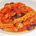 成増 イタリアン ディナー unita ウニタ トリッパのトマトソース煮込み  2020/01/22