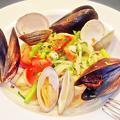 成増 イタリアン ディナー unita ウニタ 魚介と野菜のパスタ   2020/01/22