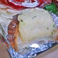 Photos: うに太 unita ウニタ ( 成増 = イタリアン ) 厚切りベーコンとタマゴ、トマトの自家製チャバタc ( テイクアウト ) 2020/05/02